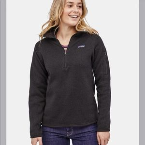 Patagonia black better sweater NWT